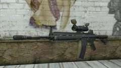 HK416 with ACOG