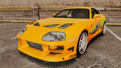 Toyota Supra RZ 1998 (Mark IV) Bomex kit для GTA 4