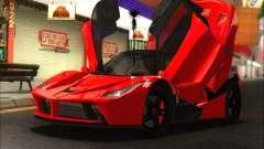 Ferrari LaFerrari v1.0 для GTA San Andreas