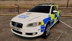 Volvo V70 South Wales Police [ELS] для GTA 4
