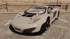 McLaren MP4-12C GT3 Blank для GTA 4