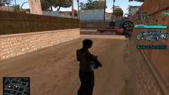 C-HUD Aztecas Gang для GTA San Andreas