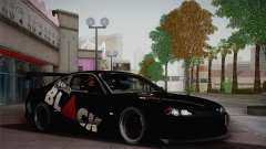 Nissan S15 Street Edition Djarum Black для GTA San Andreas