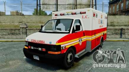 Brute FDLC Ambulance [ELS] для GTA 4