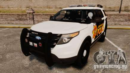 Ford Explorer 2013 LCPD [ELS] v1.5X кроссовер для GTA 4