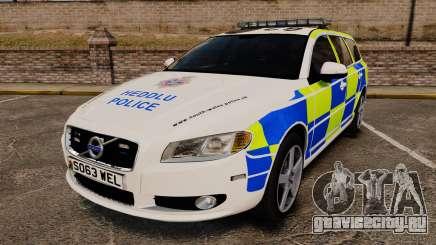 Volvo V70 South Wales Police [ELS] для GTA 4