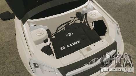 ВАЗ-2190 Lada Granta для GTA 4 вид изнутри
