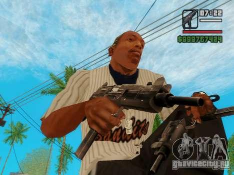 Пистолет-пулемёт UZI для GTA San Andreas третий скриншот