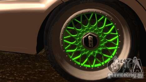 Honda Civic JDM для GTA San Andreas вид сзади слева
