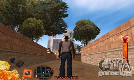 C-HUD Fire для GTA San Andreas