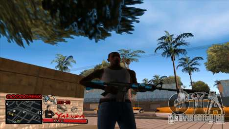 C-HUD Yakuza для GTA San Andreas
