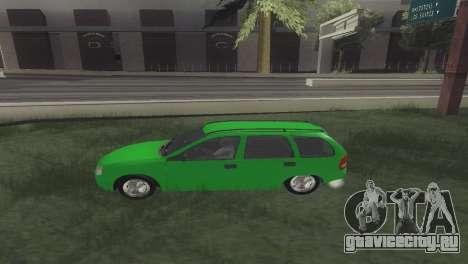 Chevrolet Corsa Wagon для GTA San Andreas вид слева