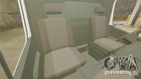 Mercedes-Benz Sprinter TF1 News [ELS] для GTA 4 вид изнутри
