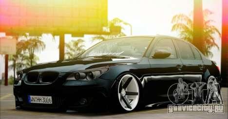 BMW M5 E60 Vossen для GTA San Andreas