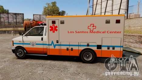Brute LSMC Paramedic для GTA 4 вид слева