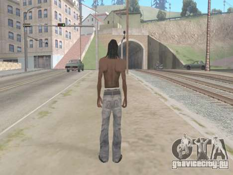 Lil Wayne для GTA San Andreas третий скриншот