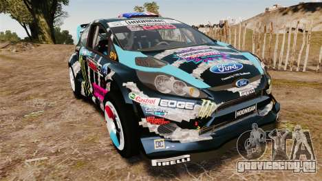 Ford Fiesta RS [Hoonigan] для GTA 4