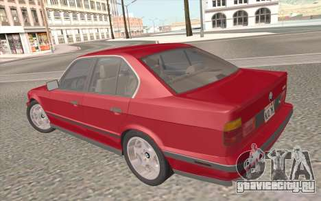 BMW M5 E34 1991 NA-spec для GTA San Andreas двигатель