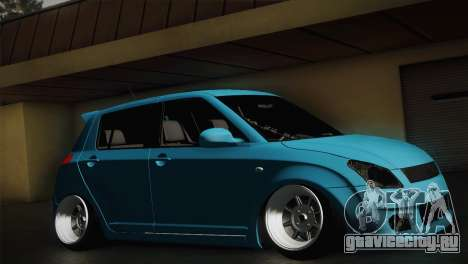 Suzuki Swift Hellaflush для GTA San Andreas