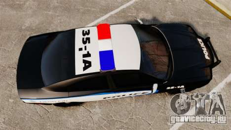 Dodge Charger 2013 Liberty City Police [ELS] для GTA 4 вид справа