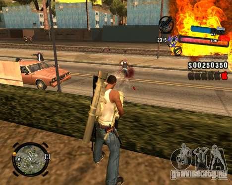 Новый C-HUD для GTA San Andreas четвёртый скриншот