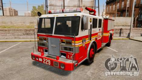 Fire Truck v1.4A FDLC [ELS] для GTA 4