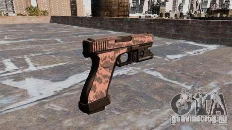 Пистолет Glock 20 Red Tiger для GTA 4 второй скриншот