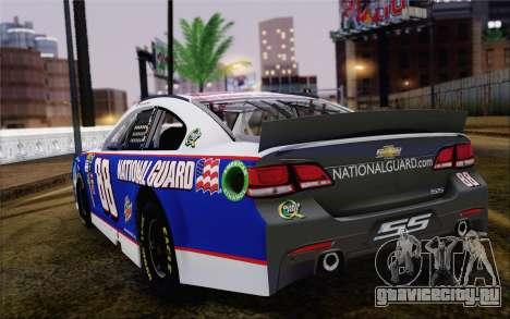 Chevrolet SS NASCAR Sprint Cup 2013 для GTA San Andreas вид слева