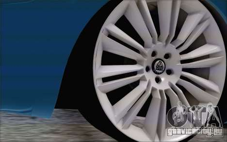 Nissan March для GTA San Andreas вид сзади слева