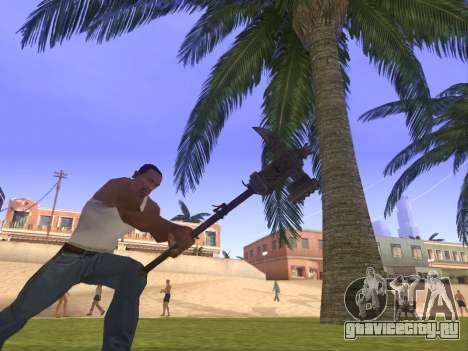 Baton Marker для GTA San Andreas второй скриншот