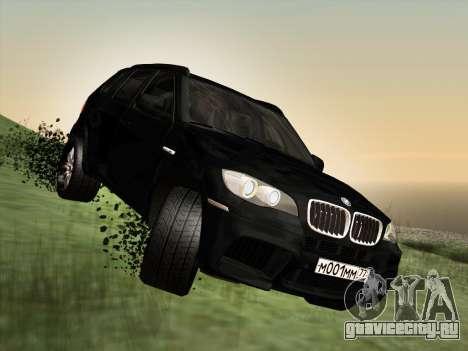 BMW X5M E70 2010 для GTA San Andreas вид сбоку