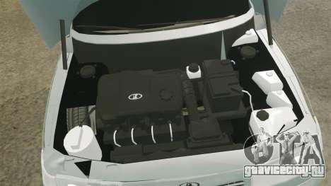 ВАЗ-2110 Bogdan 110 для GTA 4 вид изнутри