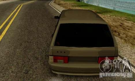 ВАЗ 2115 Универсал для GTA San Andreas вид сзади слева