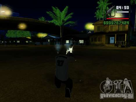 Пистолет-пулемёт UZI для GTA San Andreas девятый скриншот