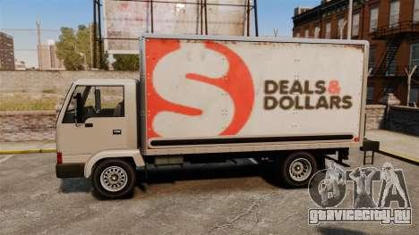 Mule с новой рекламой для GTA 4 вид справа