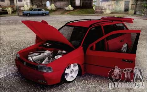 Volkswagen Parati SPS Club для GTA San Andreas вид сзади