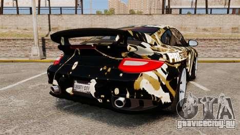 Porsche 911 GT2 RS 2012 BLOB для GTA 4 вид сзади слева