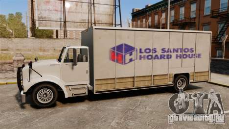 Benson с новой рекламой для GTA 4 вид слева