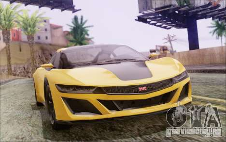 GTA V Dinka Jester IVF для GTA San Andreas вид слева