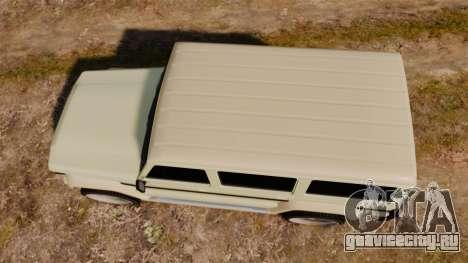 GTA V Benefactor Dubsta для GTA 4 вид справа