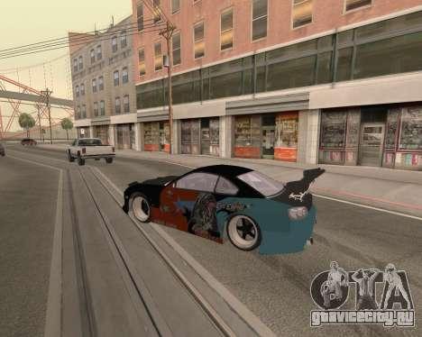 Nissan 150sx Evil Empire для GTA San Andreas вид справа