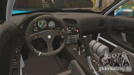 Mazda RX-7 Super Edition для GTA 4 вид сзади