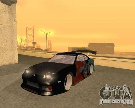Nissan 150sx Evil Empire для GTA San Andreas