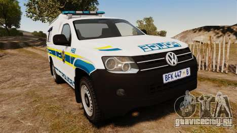Volkswagen Amarok 2012 SAPS [ELS] для GTA 4