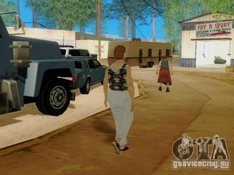 Пожилая женщина v.2 для GTA San Andreas девятый скриншот