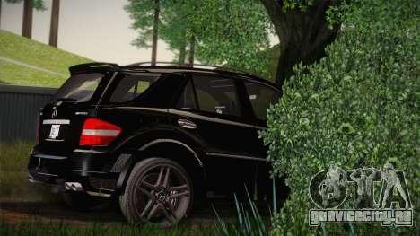 Mercedes-Benz ML63 для GTA San Andreas вид слева