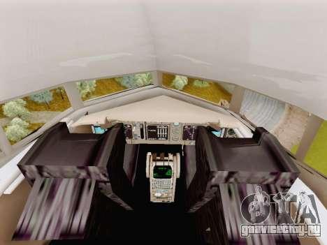 Boeing 767-300 для GTA San Andreas вид сзади
