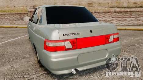 ВАЗ-2110 Bogdan 110 для GTA 4 вид сзади слева