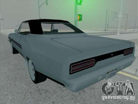 Plymouth Road RunneR GTX 1970 для GTA San Andreas вид справа