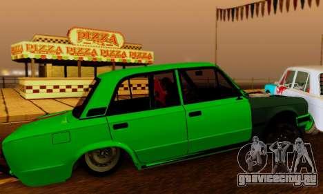 BMWAZ для GTA San Andreas вид сзади